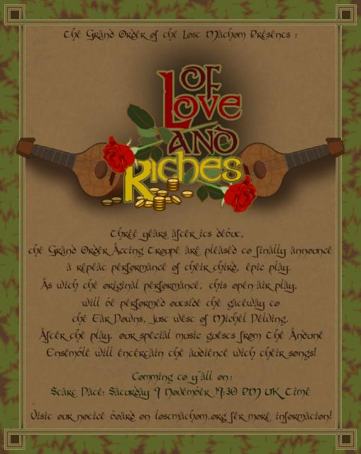 AnnouncementLoveandRiches