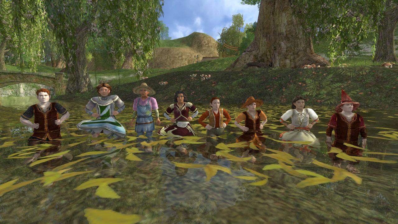 Hobbit Water Dancing @ Little Delving