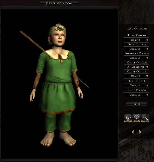 Rohan green