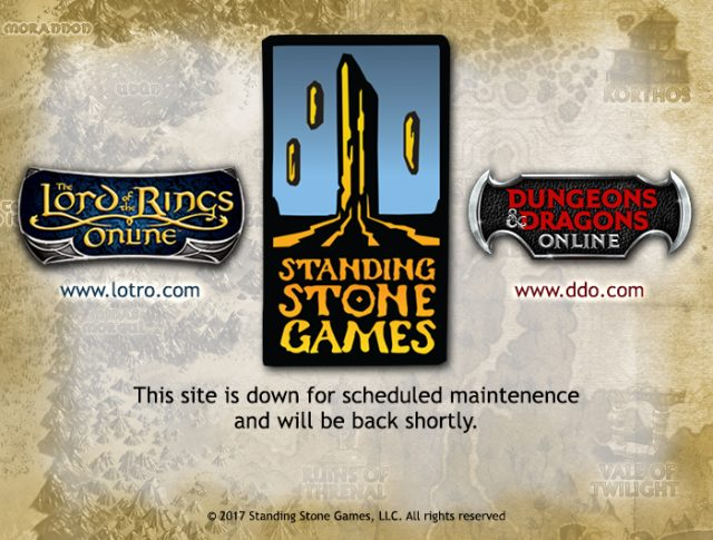 LOTRO Downtime