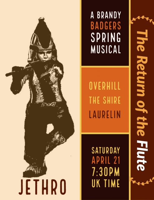 The Return of the Flute (A Brandy Badgers Spring Musical) @ Overhill