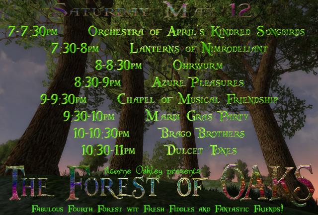 OAKS: Forest of OAKS @ Oldfurlong