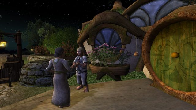 A mysterious mission from Lobelia @ Bag End