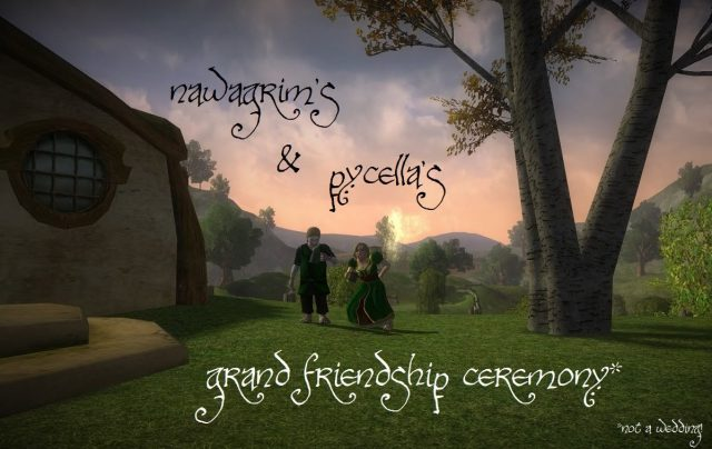 Nawagrim's and Pycella's Grand Friendship Ceremony @ Songburrow