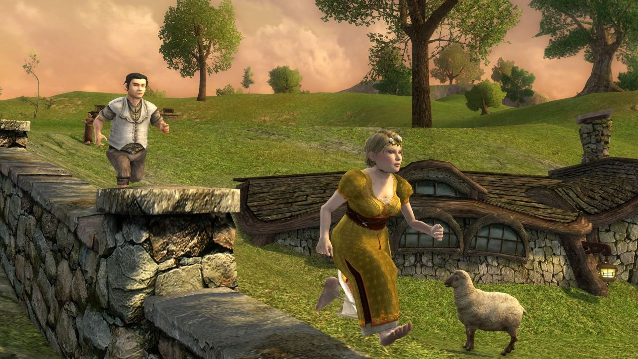 Lotro Spring Festival 2020.Fence Running Lina S Biscuity Burrow