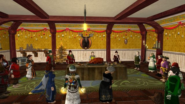 Songburrow end of yule party @ Songburrow
