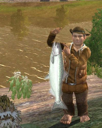 Leap-year salmon run: Fishing competition @ Brockenborings