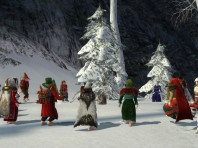 A grand and merry yule to all