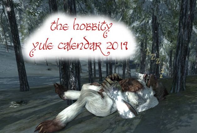 Help make the Hobbity Yule Calendar 2019