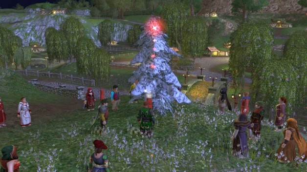 Songburrow yule tree lighting, Sunday December 15
