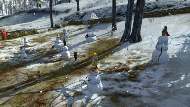 Grand Hobbit New Year's Snowball Fight, Wednesday 1 January - Lina's ...
