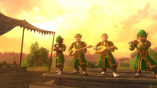 Why LOTRO music band uniforms make me chuckle