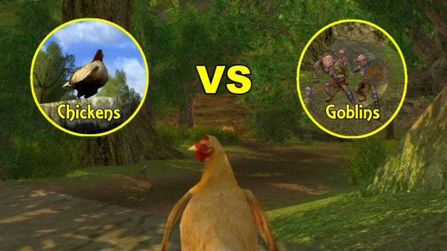 Chickens vs Goblins: The Video