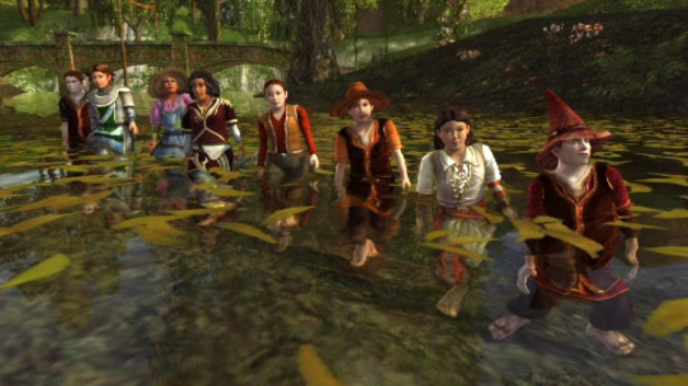 The Bath Song: A hobbit water ballet