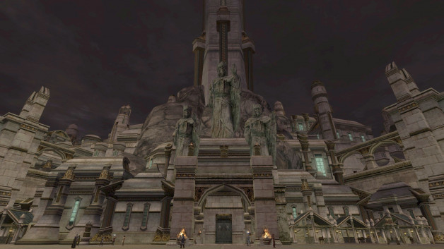 The maps of Minas Tirith – LOTRO Update 17 beta